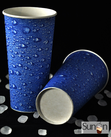 16 oz Cold Paper cups